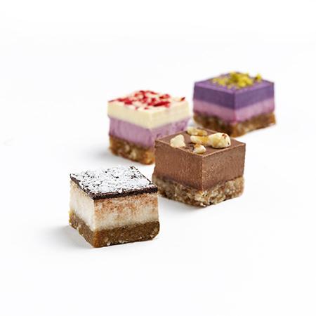 2×4 Mini Raw Cakes